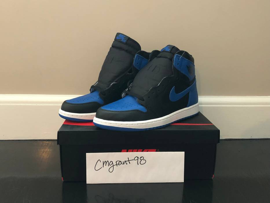2cc42279c23b Jordan Brand. Nike Air Jordan Retro 1 Royal 2017. Size  US 11   EU 44