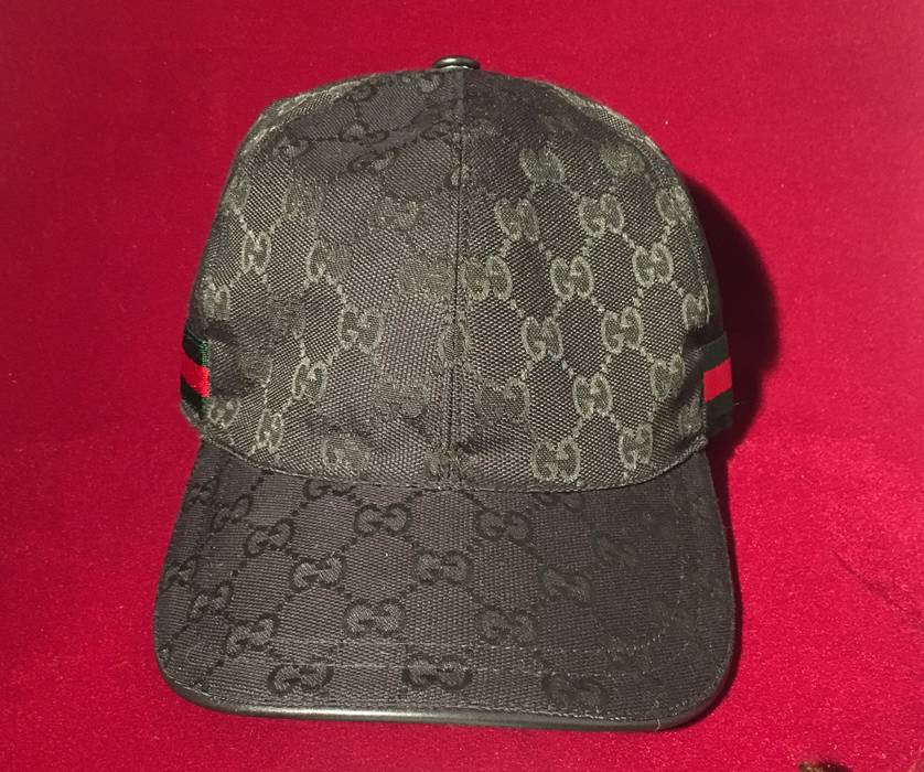 3eb2ddb7f3d Gucci Original GG canvas baseball hat with Web Size one size - Hats ...