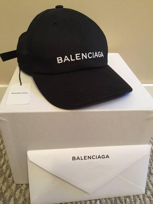 53ddf9367ec Balenciaga Balenciaga Logo Cap Size one size - Hats for Sale - Grailed