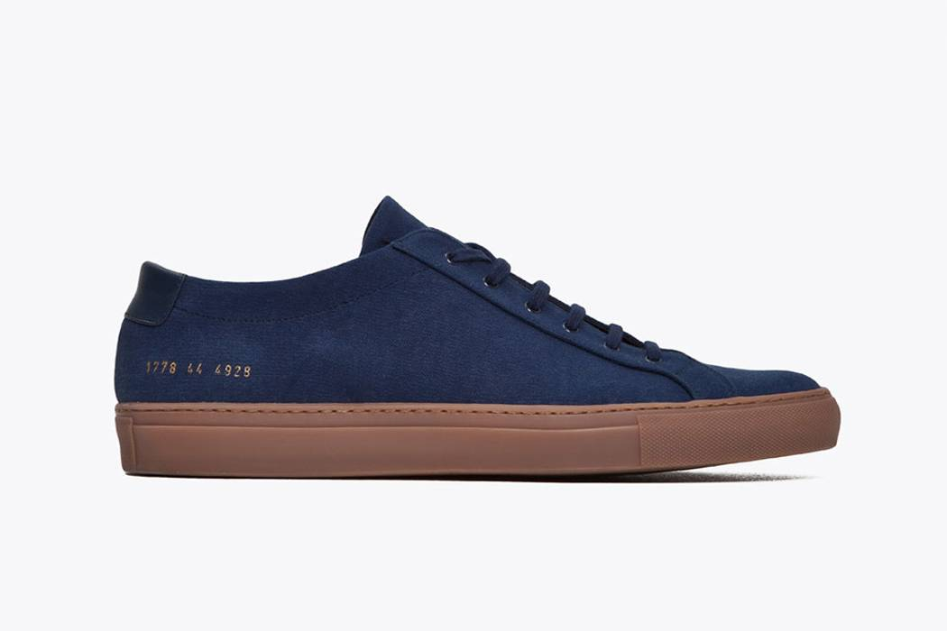 75760ffd6af8 Common Projects Canvas Navy Achilles Low 42 Size 9 - Hi-Top Sneakers ...
