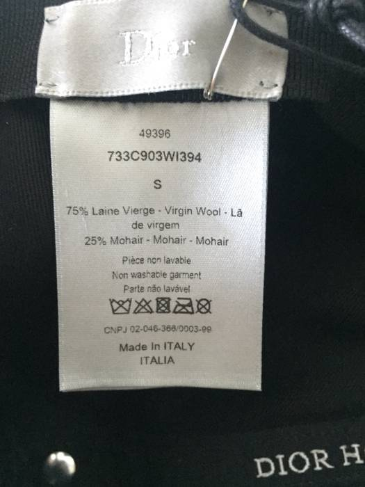 2091413e86b Dior Dior Homme Hardior Embroidery Baseball Cap Size one size - Hats ...