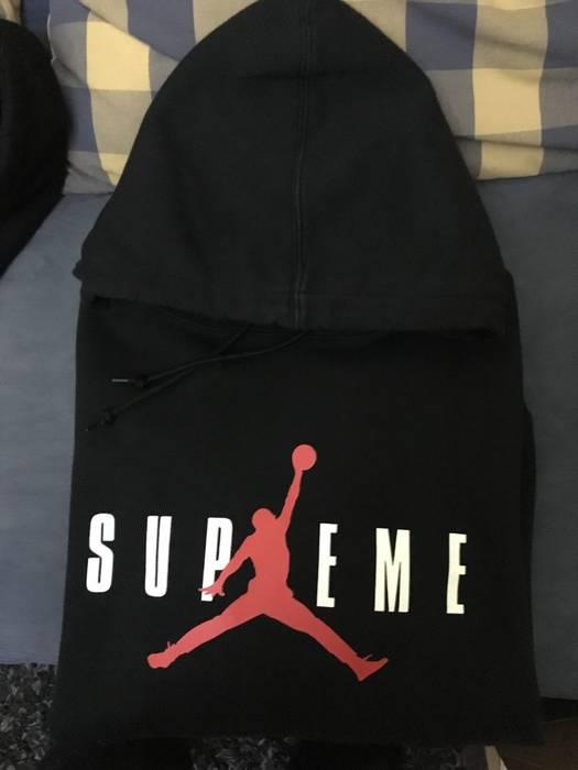 577ff5fcefa Supreme supreme x jordan hoodie Size m - Sweatshirts   Hoodies for ...