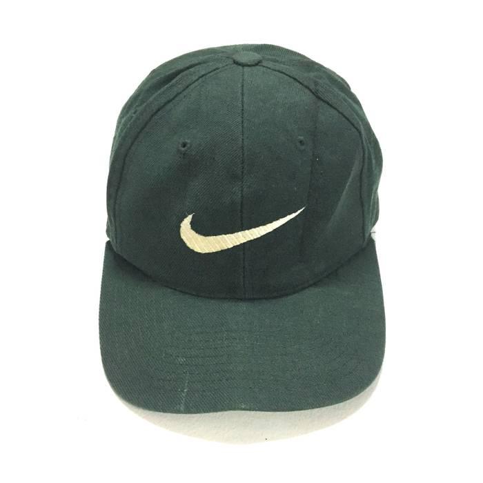 Nike ON SALERare!! Vintage Nike Swoosh Baseball Cap One Size Fits ... 0d52cb61b2d