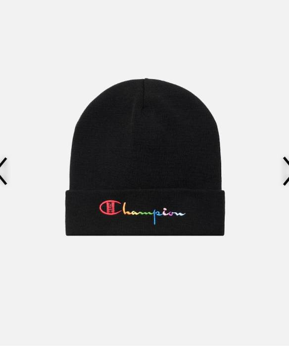 4adda1a8efe94 Kith Nyc Kith X Champion Beanie Size one size - Hats for Sale - Grailed