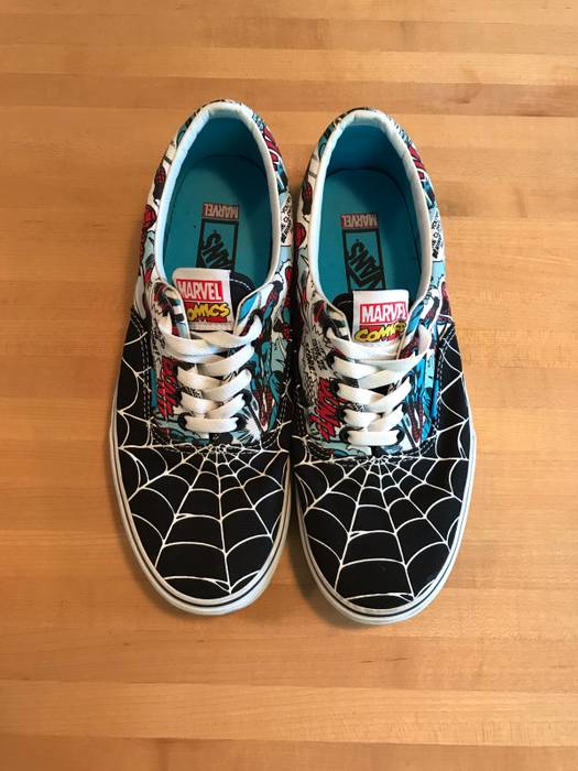 Vans Amazing Spider-Man Era Size 9 - Low-Top Sneakers for Sale - Grailed 59a0596bb