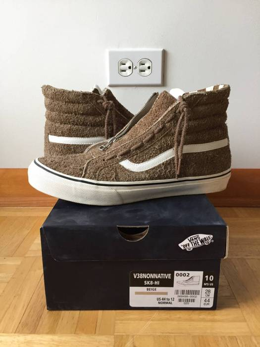 Vans Vans Zip-Up SK8 Hi Size 10 - Hi-Top Sneakers for Sale - Grailed 42b5045cd1
