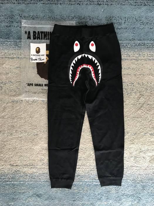 Bape Black Shark Sweatpants Size 34 - Sweatpants   Joggers for Sale ... 232b02807