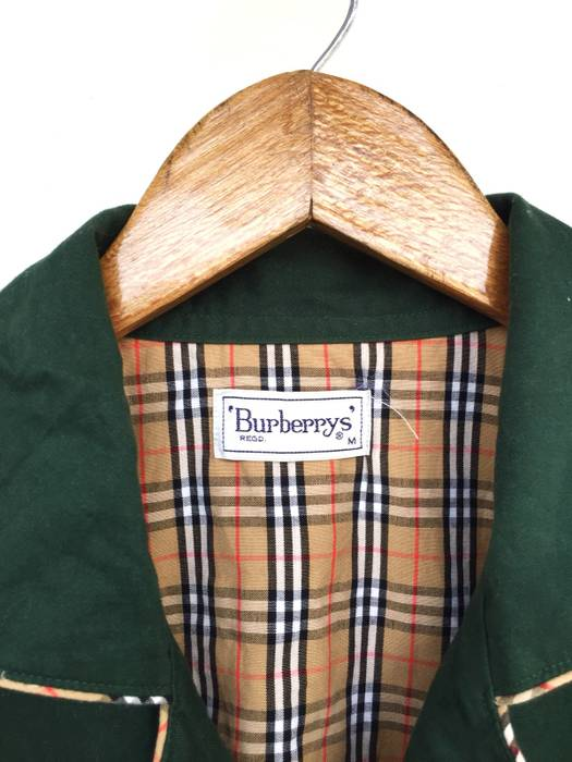 Burberry Prorsum Iconic Nova Checked Green Button Up Pajamas Shirt Size US M    EU 48 f7eaf5fdd
