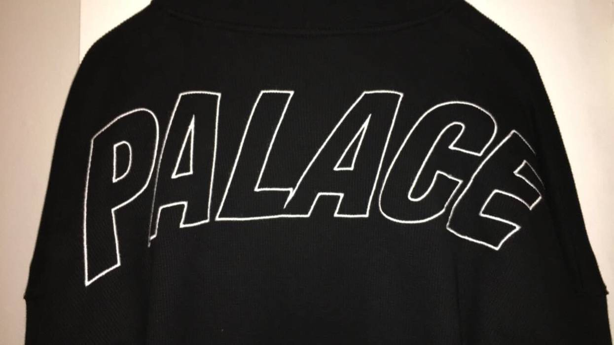 fe5bffb61cf7 Palace Palace Skateboards Thermal Zip Up Size US XXL   EU 58   5 - 3