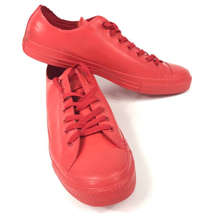 e67558e2c9a Converse NWOB Converse Chuck Taylor All Star Red Rubber OX Low Top Shoes  Sneakers Unisex Size