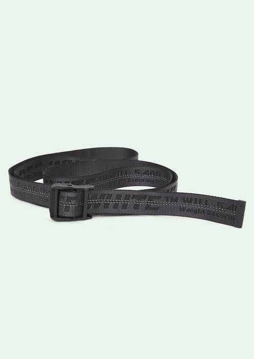 ba13738972b6 Off-White Off White Black Industrial Belt Size one size - Belts for ...