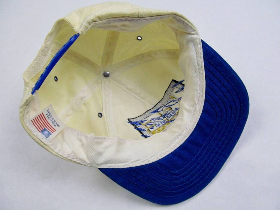 46308d03d56 Vintage Budweiser Bud ICE Beer Snapback Baseball Hat Cap Alcohol King of  Beers Vintage Rare Hip