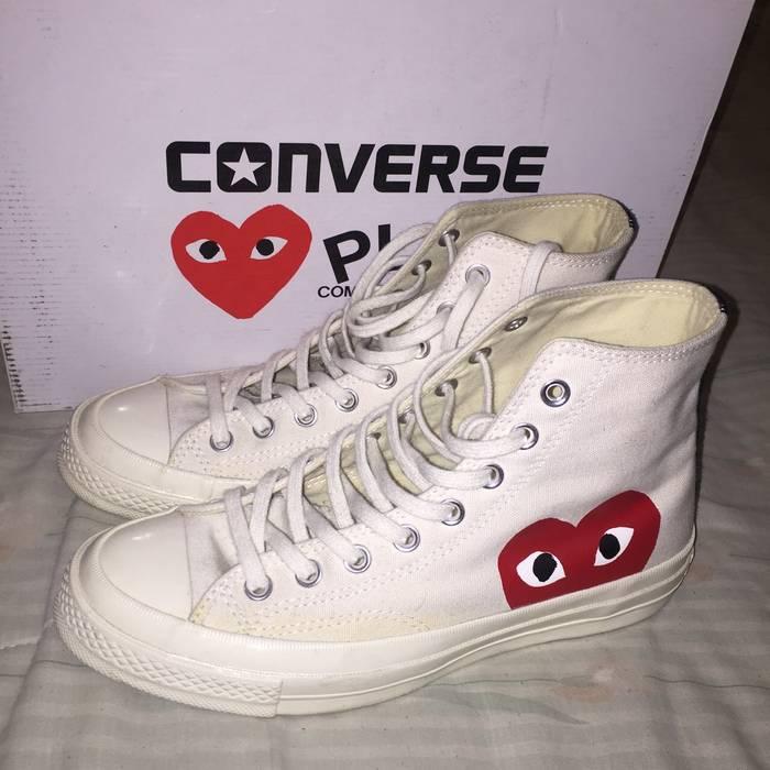 0c59da85322 Converse Cdg X Converse Size 7 - Hi-Top Sneakers for Sale - Grailed