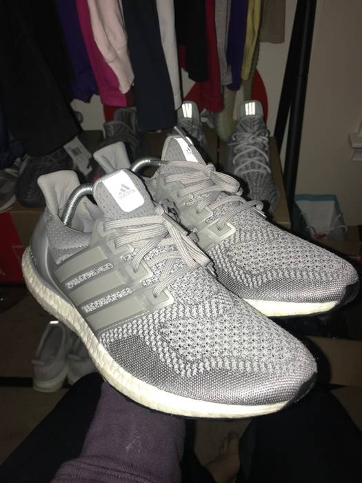 2ca29b94650 Adidas Ultra Boost 1.0 Metallic Silver Size 10.5 - Low-Top Sneakers ...