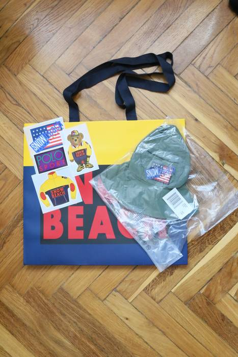 616e3980ae Polo Ralph Lauren Snow Beach (size L XL) Bucket Hat Size one size ...