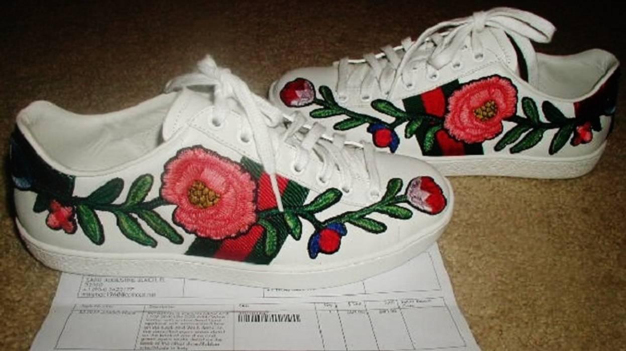47d10e61e8e Gucci NEW with Gucci RECEIPT Gucci Ace sneakers EU 5.5 US 6 Size 6 ...