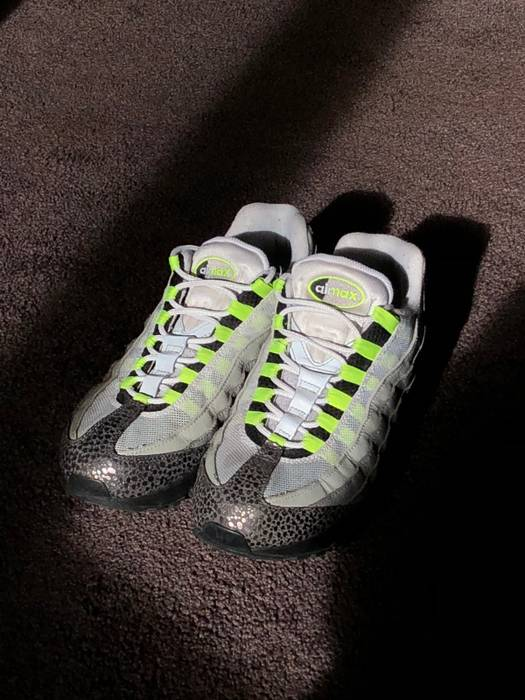 reputable site a9ec2 e5940 Nike. Nike Air Max 95 Neon Safari