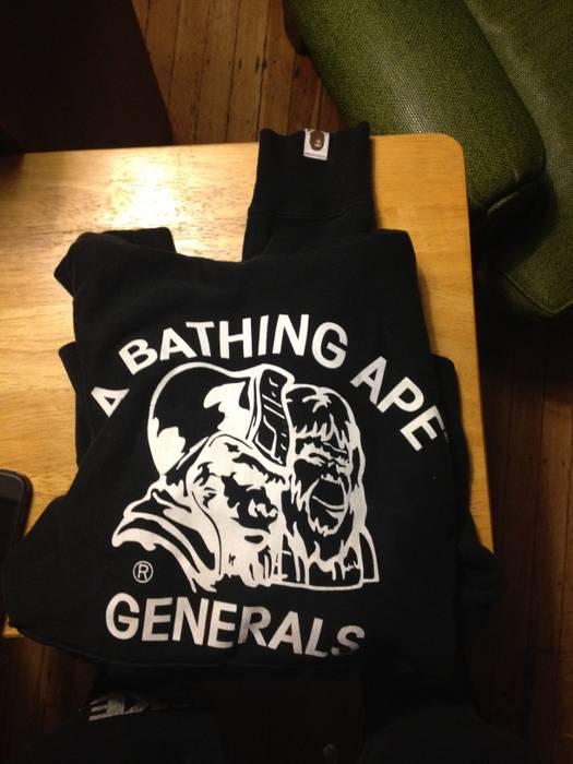 Bape A Bathing Ape Generals Hoodie Size s - Sweatshirts   Hoodies ... 601d08f20ae7