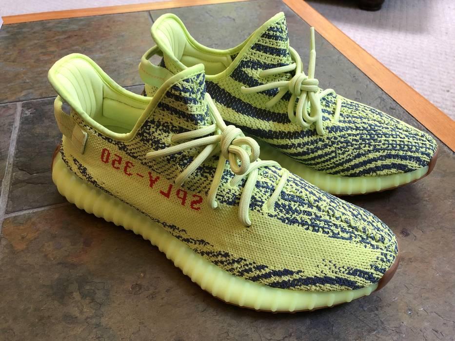 fb1089b8e12 Yeezy Boost Yeezy Semi Frozen Yellow V2 Size 12 - Low-Top Sneakers ...