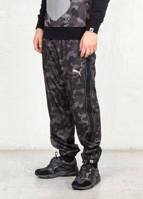 Bape Bape X Puma Camo Sweatpants Size 36 - Sweatpants   Joggers for ... 12b39ed79caf