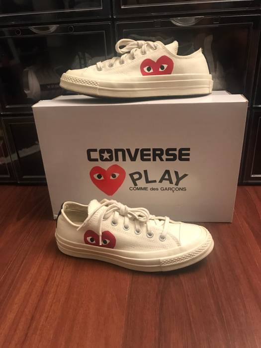 4da6423f2ceb Converse Cdg Play Converse Low White Size 7 - Low-Top Sneakers for ...