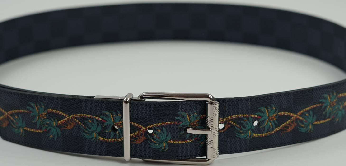 Louis Vuitton Mens Louis Vuitton Reversible Belt Size 36 Belts For