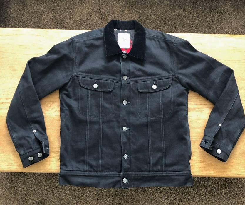 7b47b0a018f Visvim Wind Stopper Black Denim Jacket Size m - Denim Jackets for ...
