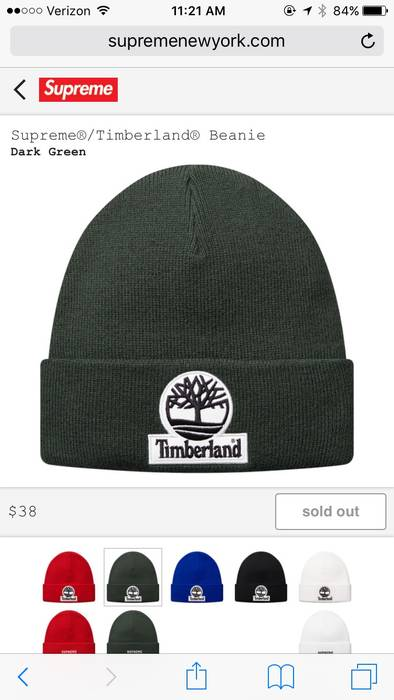 cb375d87adde6 Supreme Supreme Timberland Beanie Size one size - Hats for Sale ...