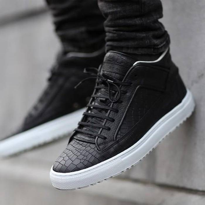 Etq Mid 2 Croc Embossed Size 11 - for Sale - Grailed fd6744758170