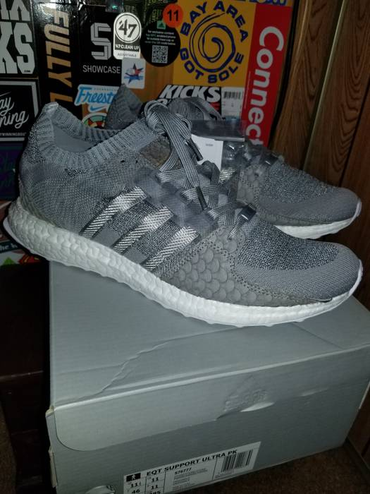 Adidas. Adidas EQT Support Ultra Primeknit Boost Pusha T King Push Greyscale  ... 697cc9b404
