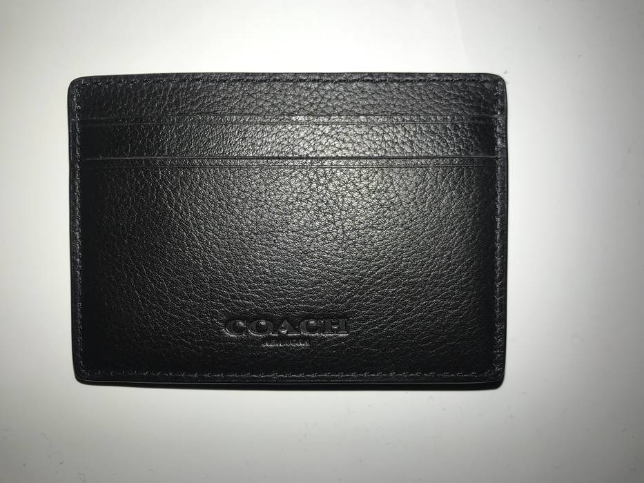 e4aa648473504 Coach Leather Card Holder W  Money Clip Size one size - Wallets for ...