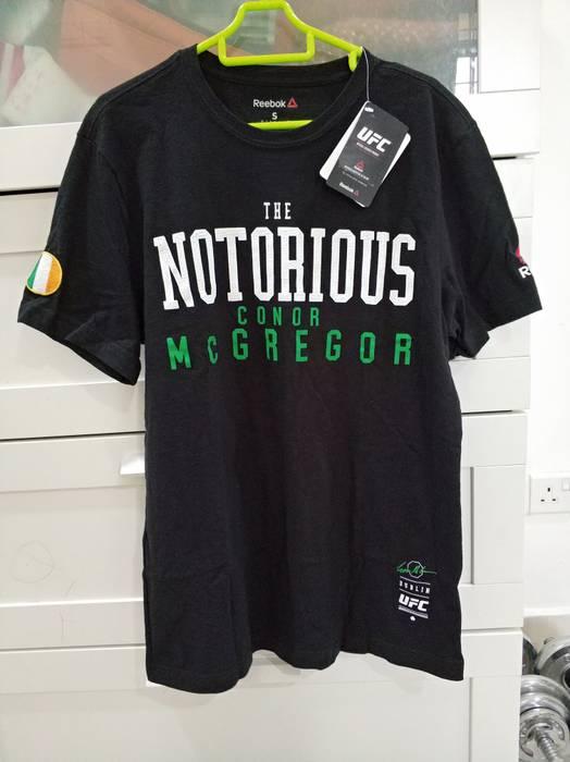 Reebok Reebok Ufc Conor Mcgregor Notorious Shirt Size S Short