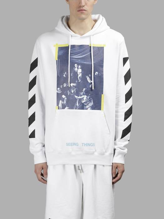 d526c677c9 Off-White 🔥🔥 Off White Caravaggio Hoodie 🔥🔥 Size m - Sweaters ...