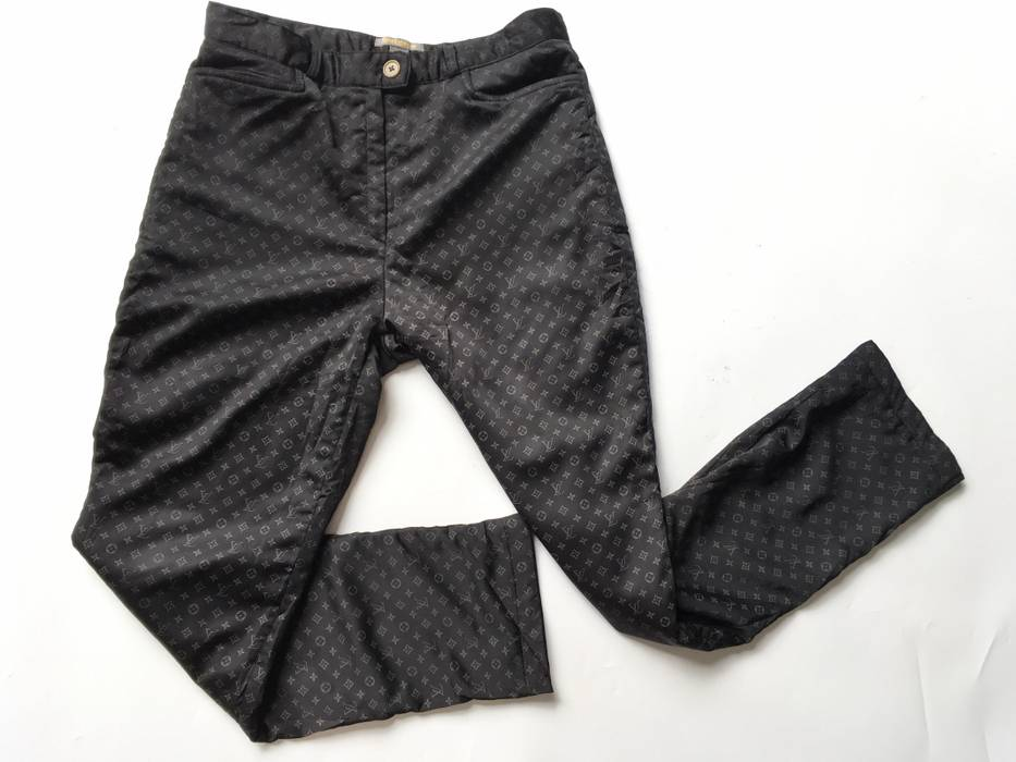 Louis Vuitton Vintage Louis Vuitton Monogram Casual Pants Made In