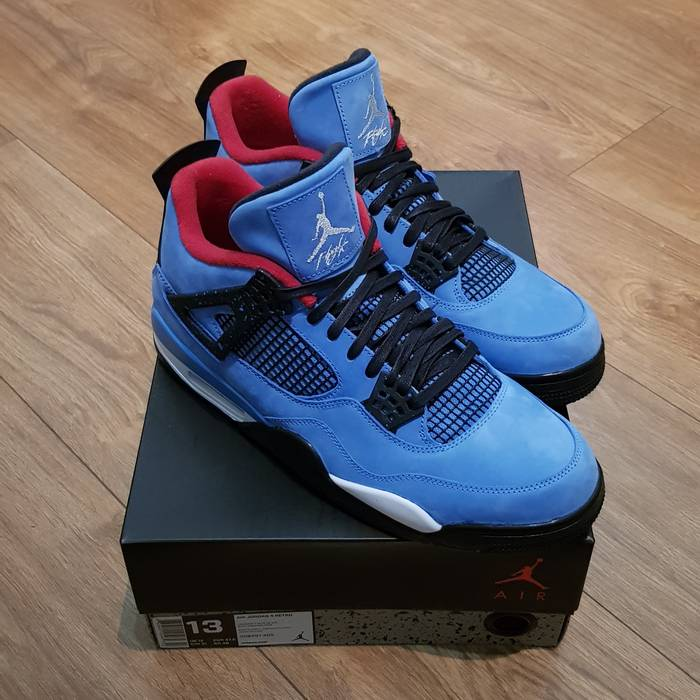 fe03a28107b Nike Jordan 4 Retro Travis Scott Cactus Jack Size 13 - Low-Top ...