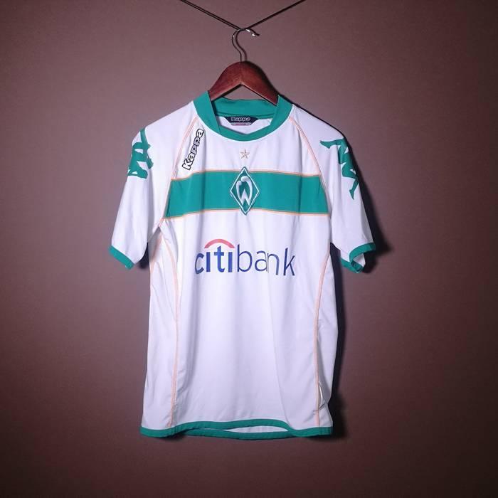 Kappa Kappa White Green Tshirt Shirt Sport Football Citibank Medium M Size  US M   EU e65d94f7c