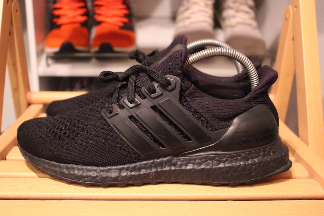 892f1ca96e9 Adidas Adidas Ultra Boost 1.0 Triple Black LTD White Kanye West BB4677 Size  US 8
