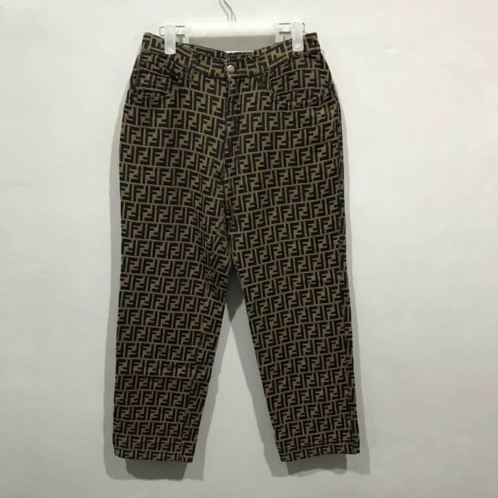Fendi Vintage FENDI Roma italy monogram jeans Size 29 - Denim for ... 259f73d619455