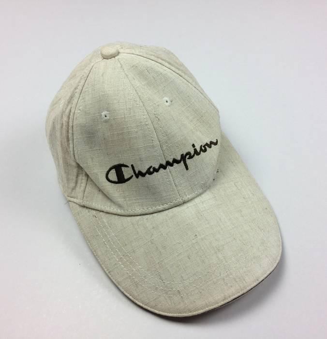 Champion Vintage Champion Caps Hats Skate Hip Hop Style 90s ... f5947ebf772