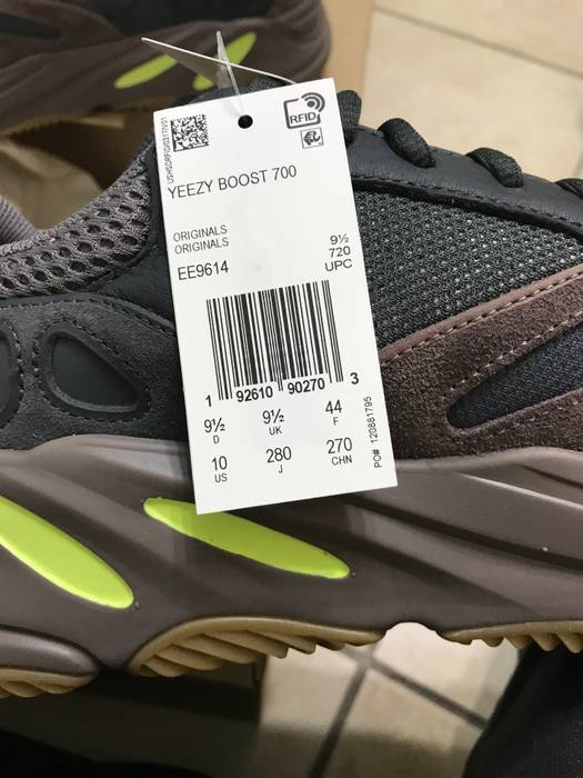 823470339b5 Yeezy Boost adidas YEEZY BOOST 700 Mauve Size 10 - Low-Top Sneakers ...