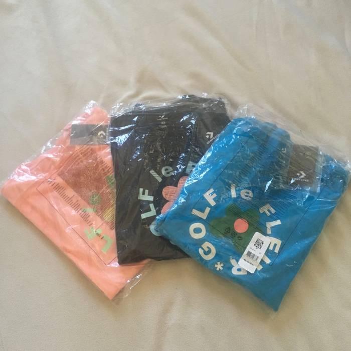 71b0f91e33c841 Converse 3 x Golf le Fleur T-Shirts Tyler The Creator Golf Wang Converse  Size