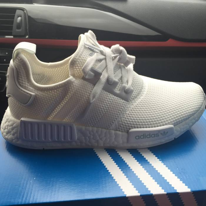 e62c927a2 Adidas Adidas NMD all white Size 8 - Hi-Top Sneakers for Sale - Grailed