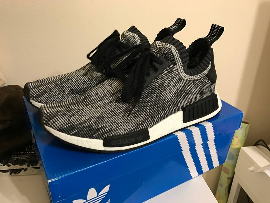923a68a80559 Adidas NMD Runner PK Glitch Oreo Size 10 - Low-Top Sneakers for Sale ...