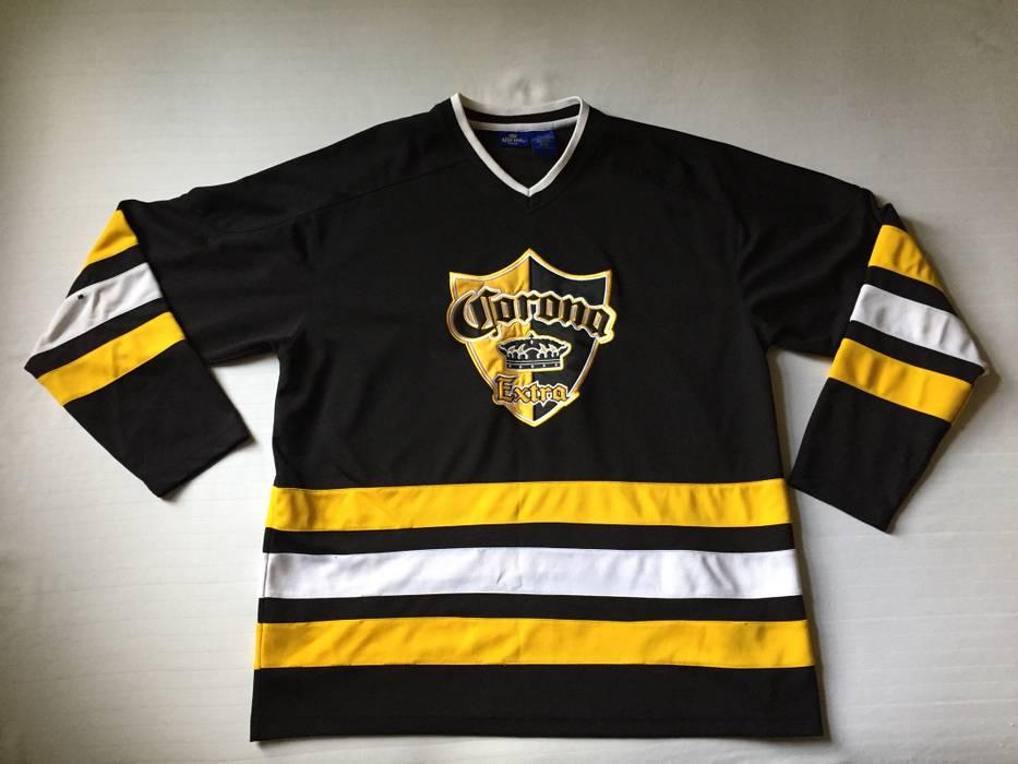 Vintage Corona🔥 Beer League Hockey Jersey  Hip Hop Rap Pittsburgh Penguins  f76cf3a4152