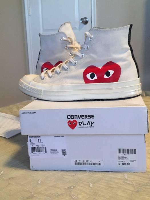 81e7d8cb3703 Comme des Garcons CDG X Converse Size 9 - Hi-Top Sneakers for Sale ...
