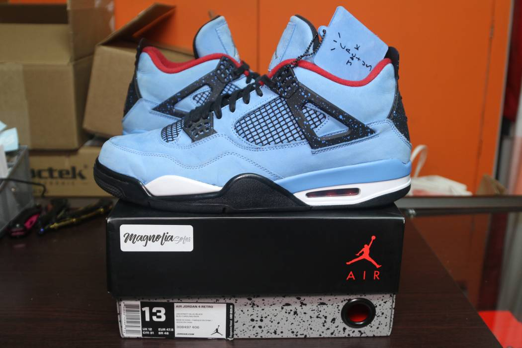 3527361c1ec22d ... greece travis scott cactus jack air jordan retro 4 size us 13 eu 46  1b483 81b51
