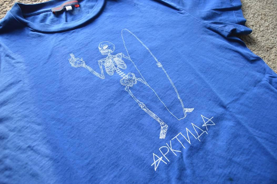 0e8a026093b Gosha Rubchinskiy Gosha Rubchinskiy Blue Skeleton Shirt Endless Summer Size  US L   EU 52-