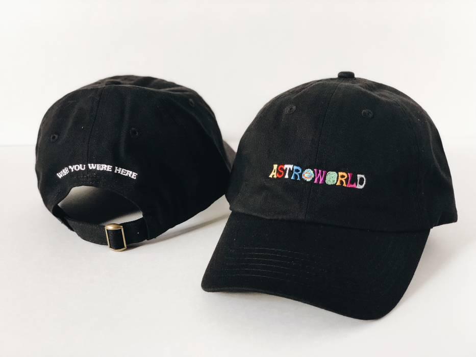 Travis Scott TRAVIS SCOTT ASTROWORLD DAD TOUR MERCH HAT CAP TOUR ... 1bc3457c9d3f
