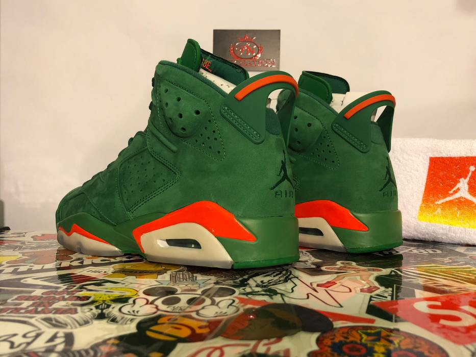 b09c7c6b12c Nike Nike Air Jordan 6 Retro Gatorade Green Size 8 - Hi-Top Sneakers ...