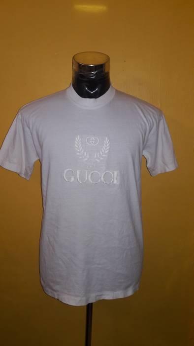 7053e4c5e63 Gucci Rare Vintage Gucci Embroided Big Logo Not Givenchi Not Balenciaga Not  Palace Size US M